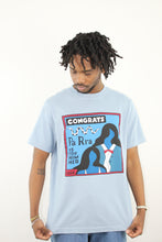Load image into Gallery viewer, Congrats Tee - Dusty Blue