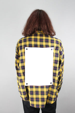Open Canvas Yellow Flannel
