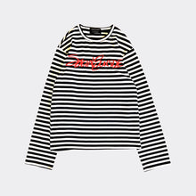 Load image into Gallery viewer, Social Suicide Stripe Shirt