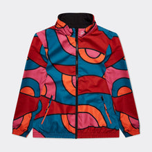Load image into Gallery viewer, Serpent Pattern Reversible Track Top