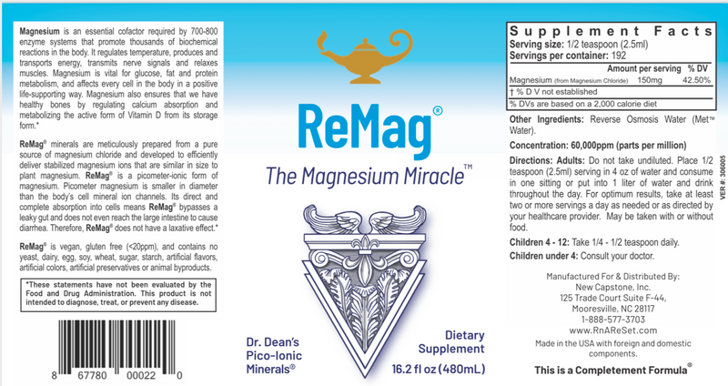ReMag The Magnesium Miracle™ 8.1 oz