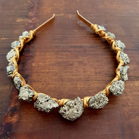 Pyrite Queen Crown