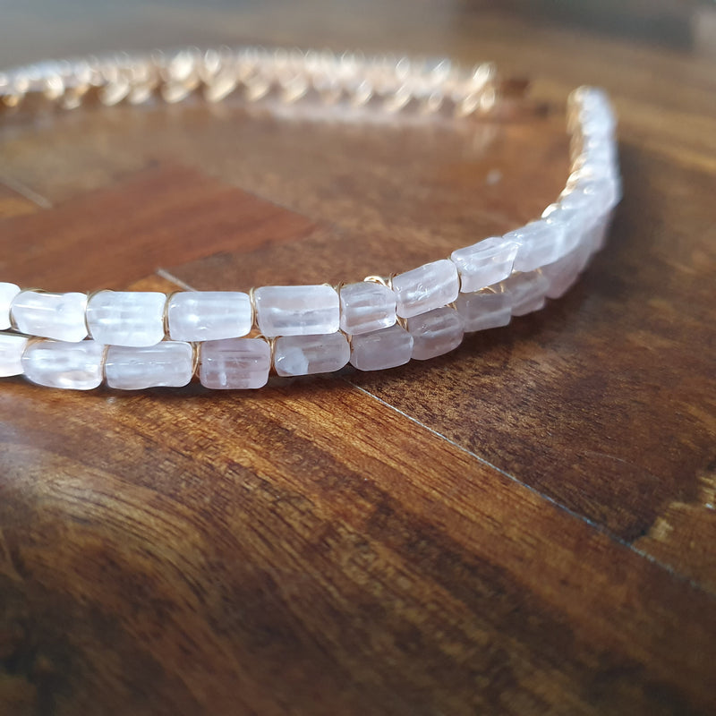 Rose Quartz Headband