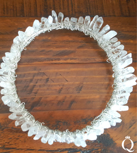 Clear Quartz Regal Crown