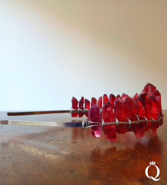 Red Quartz Duchess Crown