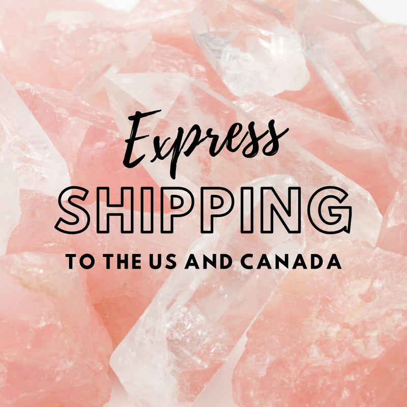 Express shipping- US and Canada only