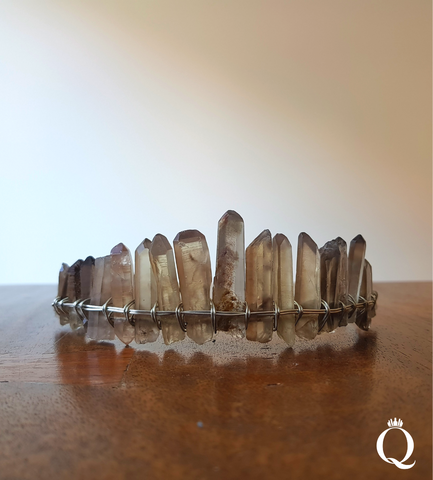 Smoky Quartz Duchess Crown