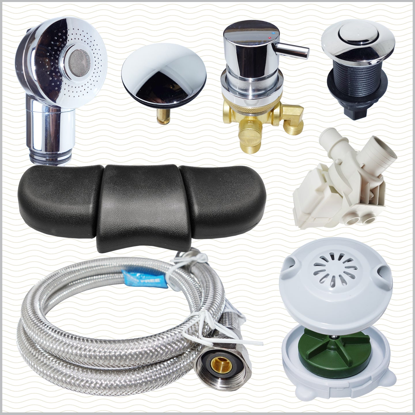 Pedicure Spa Parts
