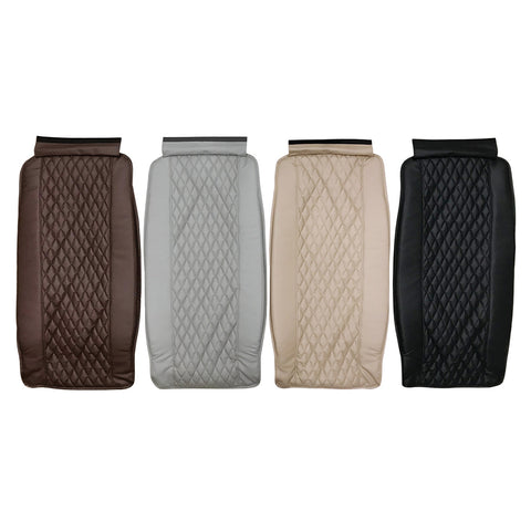 Diamond PU Leather Backrest with Pad