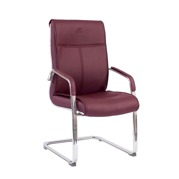 Waiting Chair - 8021 Burgundy