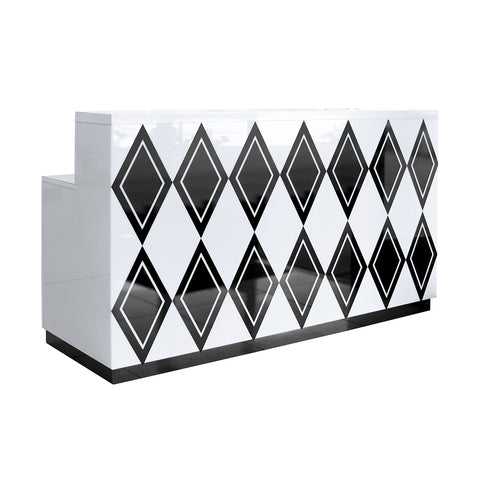 Diamond Reception Desk