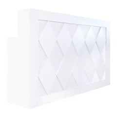 Diamond LED Reception Desk