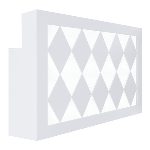 Valentino Lux Diamond LED Reception Desk