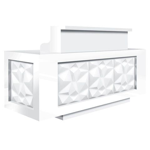 Facet LED Reception Desk