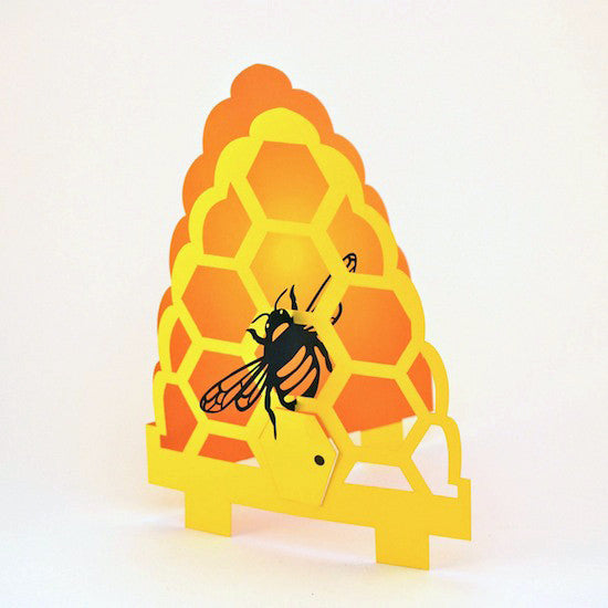 Greeting Card - 3D Bee