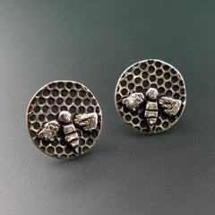 Honeybee Post Earrings