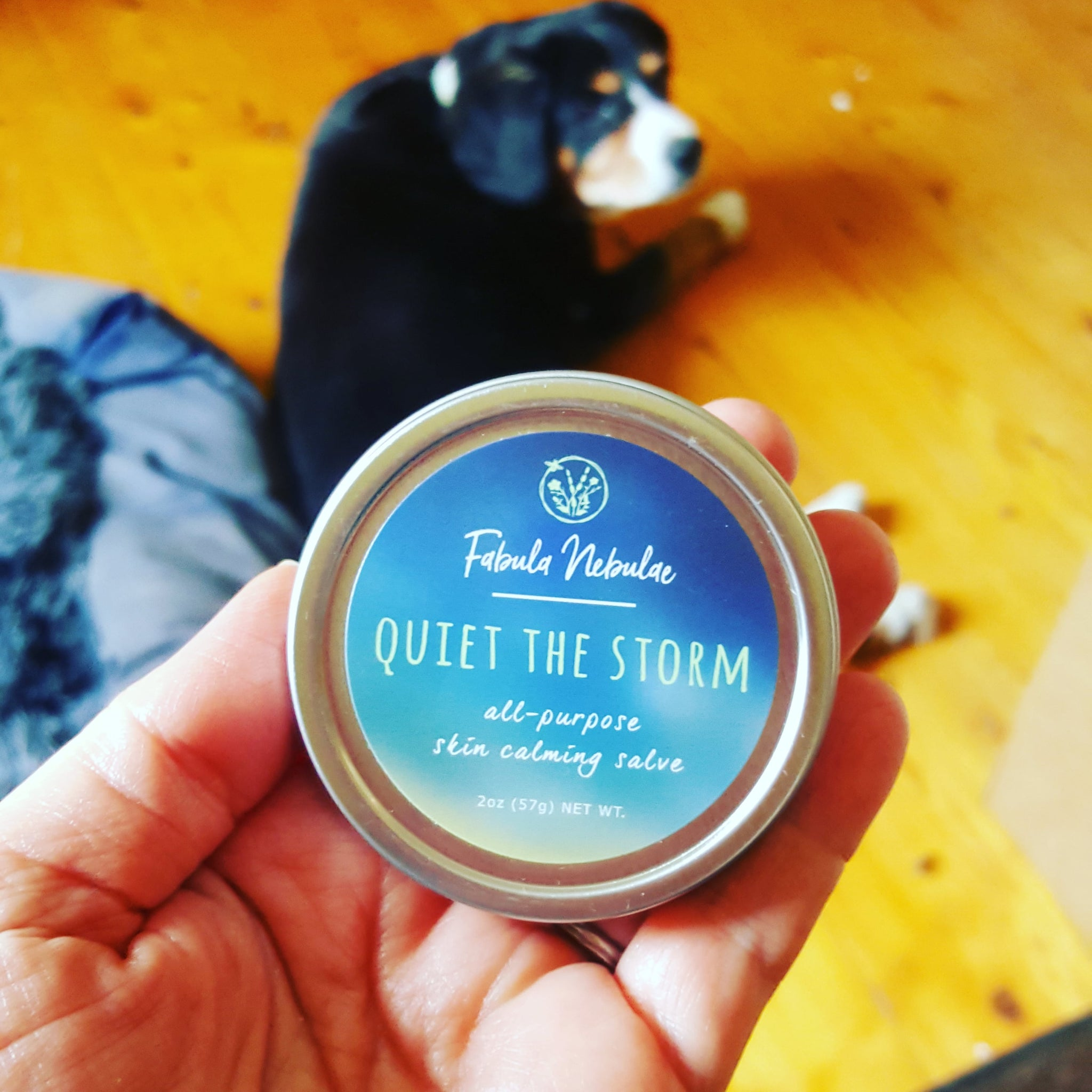 Quiet the Storm skin calming salve