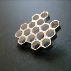N-Grace Metals Honeycomb Pendant