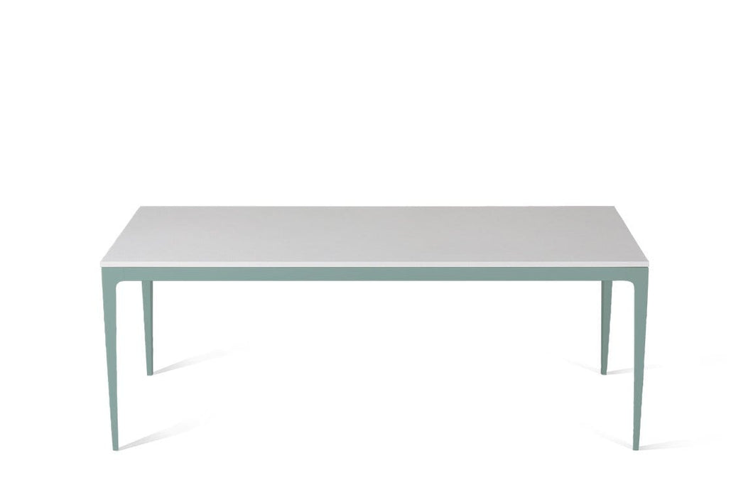 Pure White Long Dining Table Admiralty