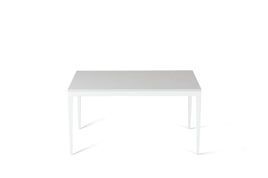 Pure White Standard Dining Table Pearl White