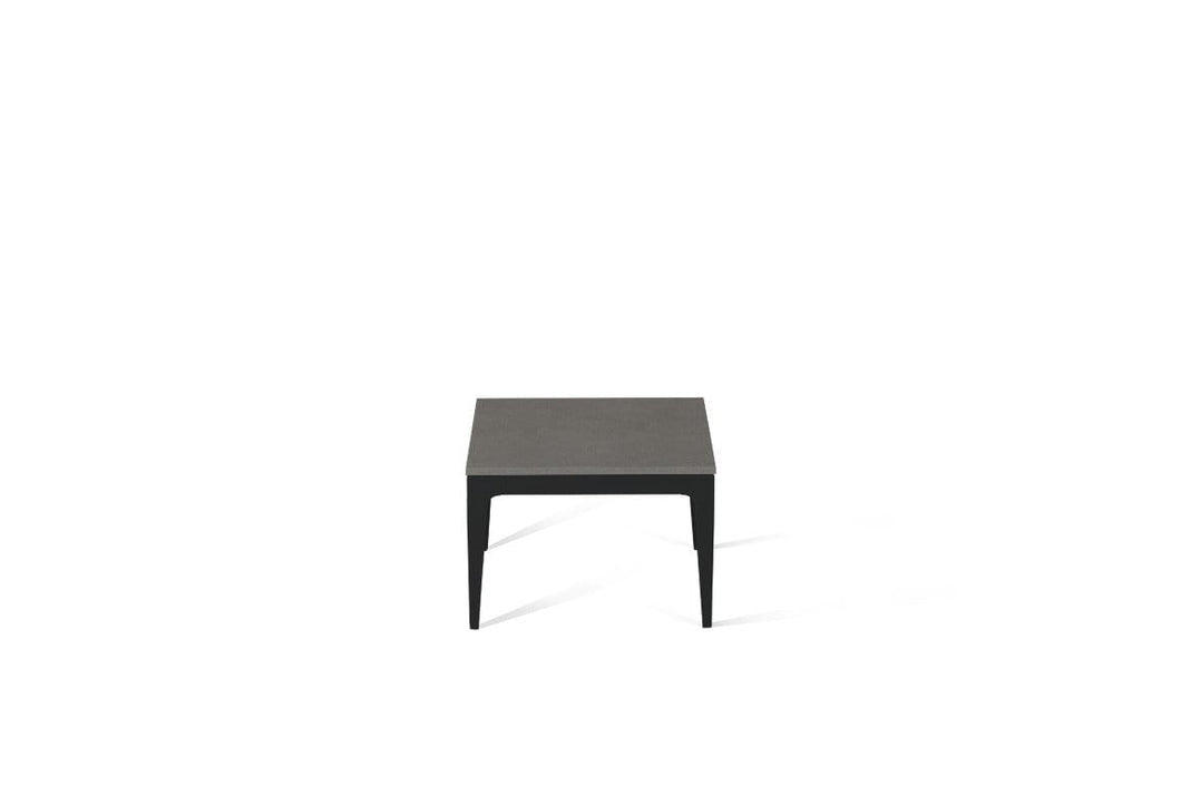 Urban Cube Side Table Matte Black