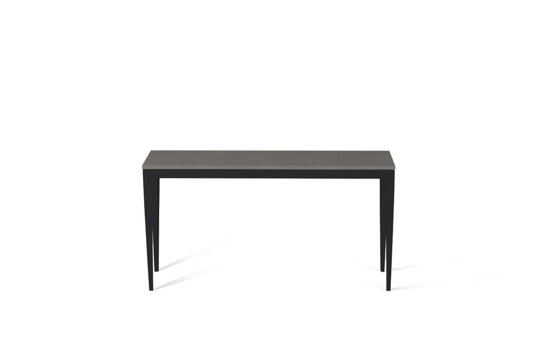 Urban Slim Console Table Matte Black