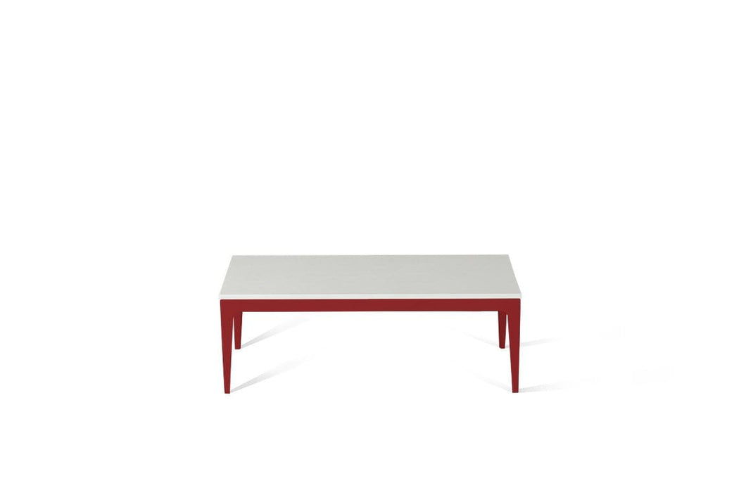 Snow Coffee Table Flame Red