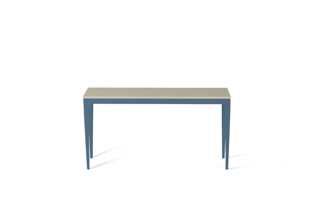 Linen Slim Console Table Wedgewood