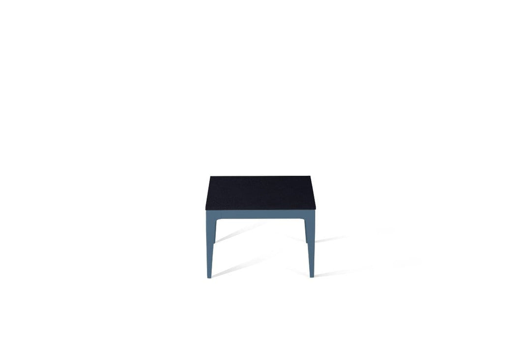 Jet Black Cube Side Table Wedgewood