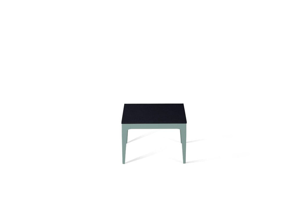 Jet Black Cube Side Table Admiralty