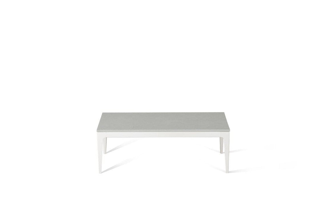 White Shimmer Coffee Table Oyster