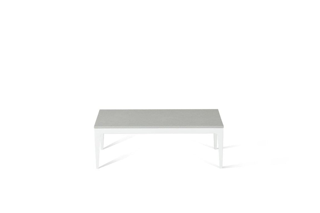 White Shimmer Coffee Table Pearl White