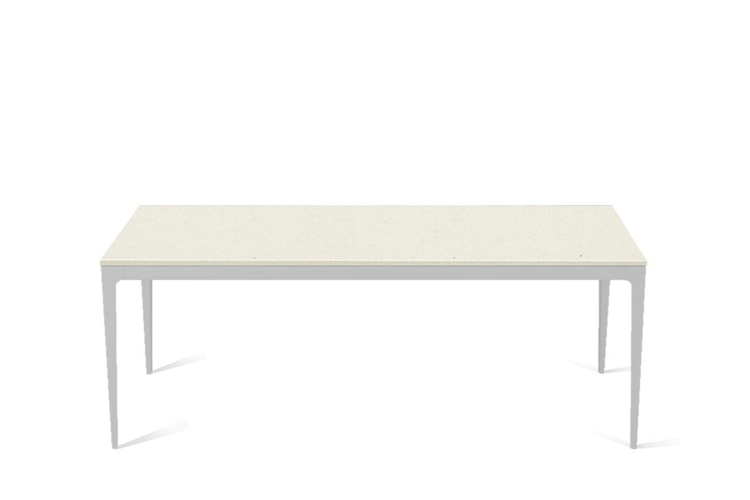 Fresh Concrete Long Dining Table Oyster