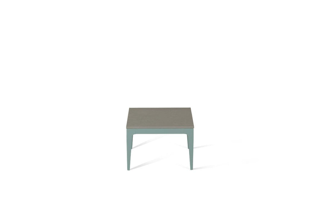 Sleek Concrete Cube Side Table Admiralty