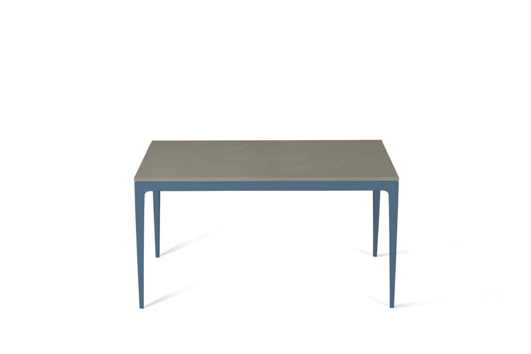 Sleek Concrete Standard Dining Table Wedgewood