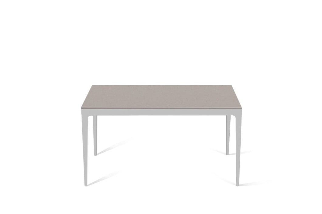 Raw Concrete Standard Dining Table Oyster