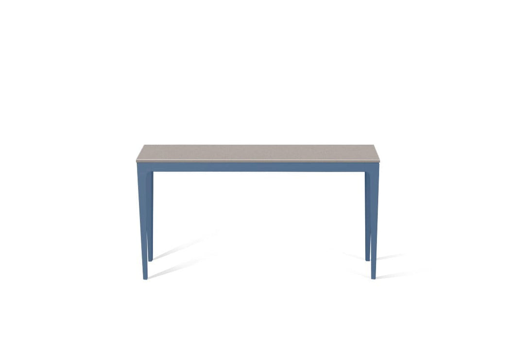 Raw Concrete Slim Console Table Wedgewood