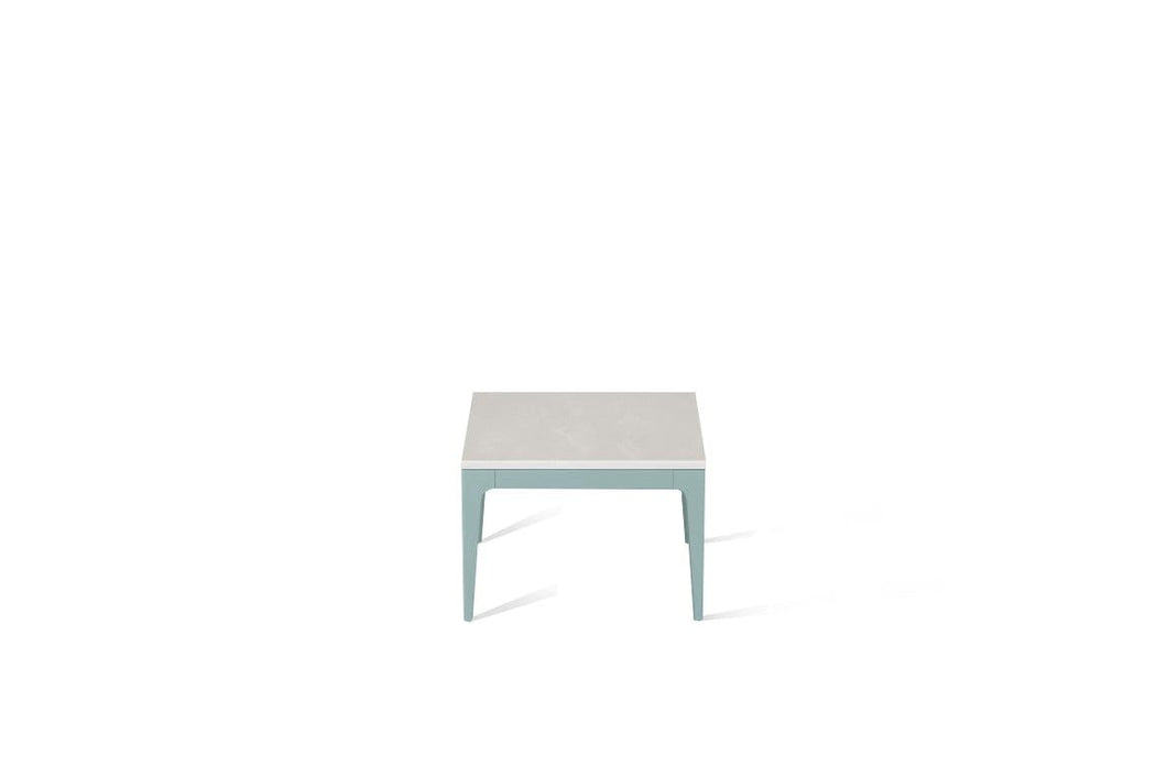 Cloudburst Concrete Cube Side Table Admiralty