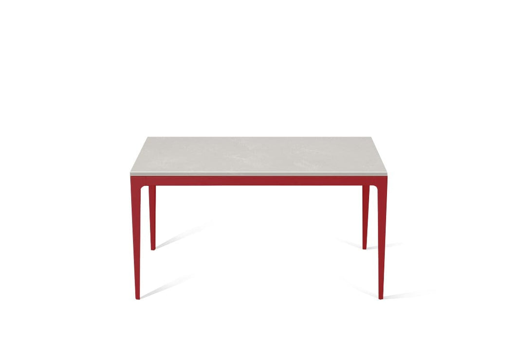 Cloudburst Concrete Standard Dining Table Flame Red
