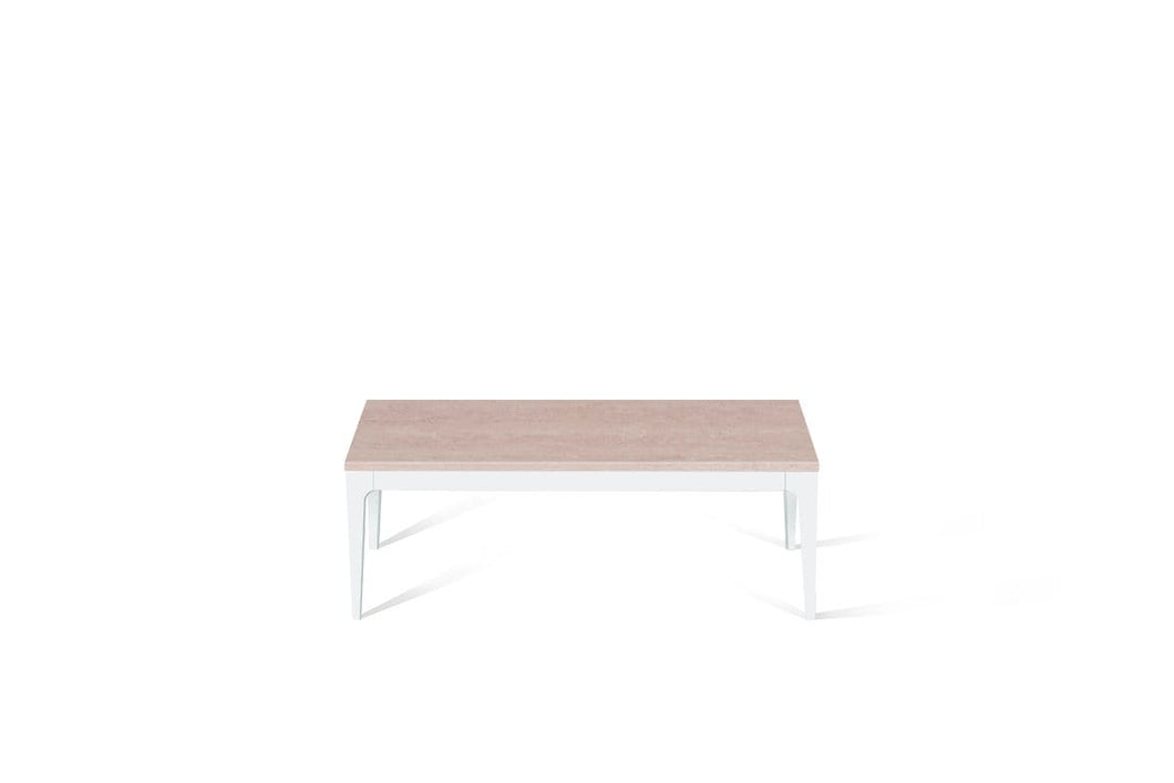 Topus Concrete Coffee Table Pearl White