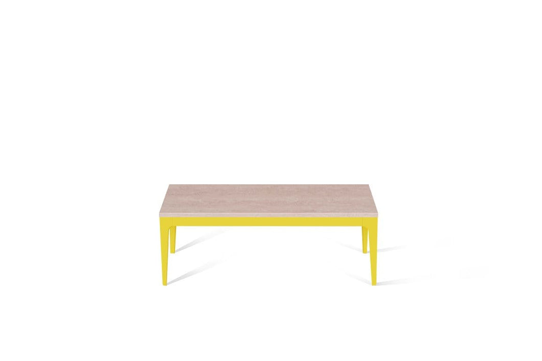Topus Concrete Coffee Table Lemon Yellow