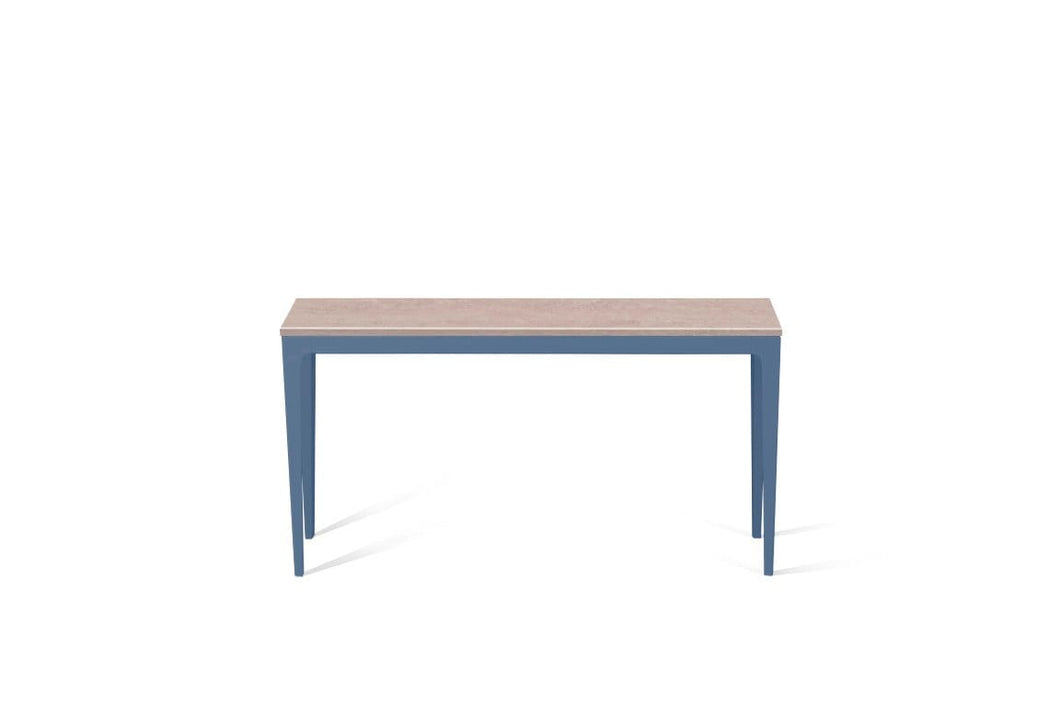 Topus Concrete Slim Console Table Wedgewood