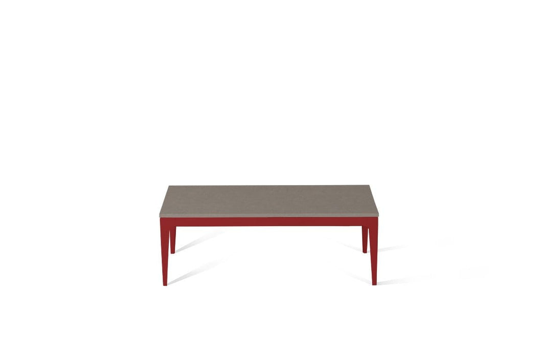 Oyster Coffee Table Flame Red