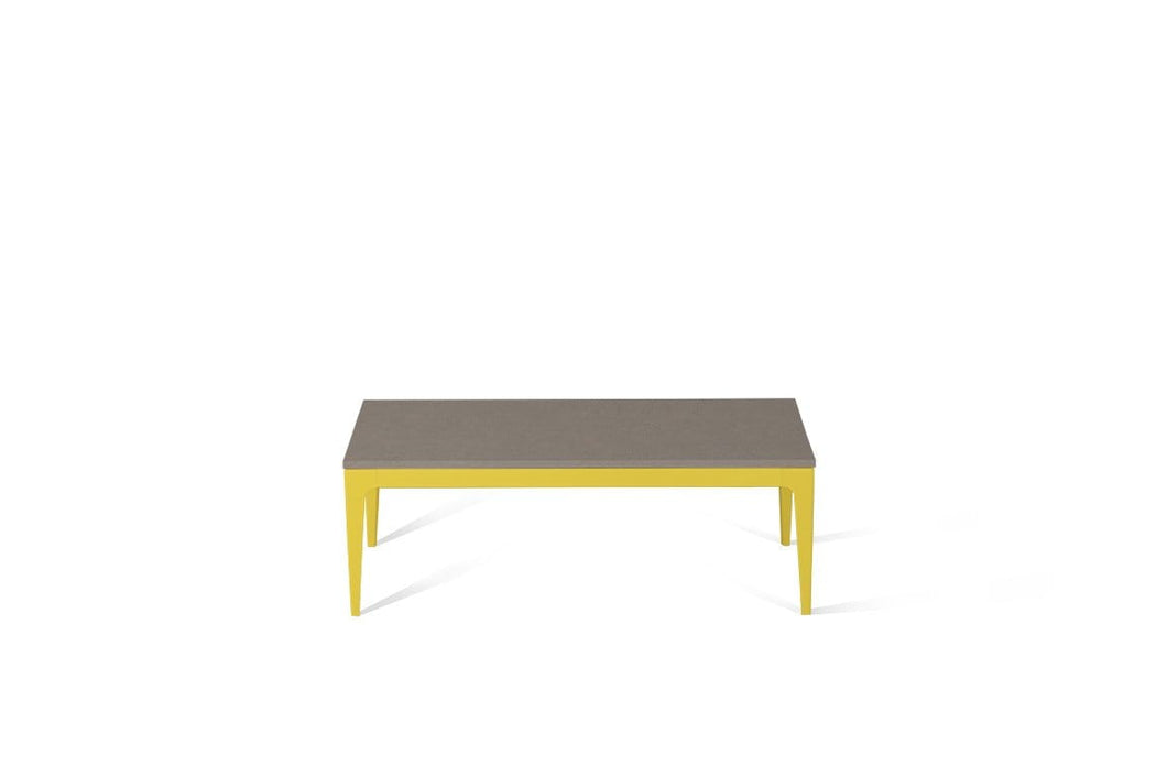 Oyster Coffee Table Lemon Yellow