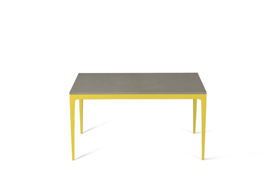 Oyster Standard Dining Table Lemon Yellow
