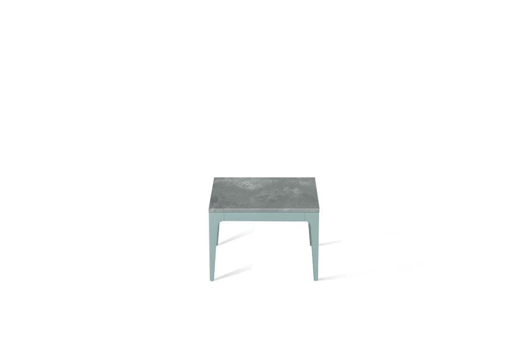 Rugged Concrete Cube Side Table Admiralty