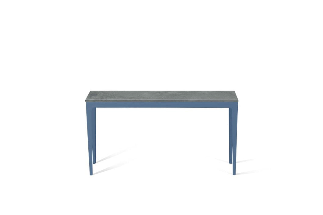 Rugged Concrete Slim Console Table Wedgewood