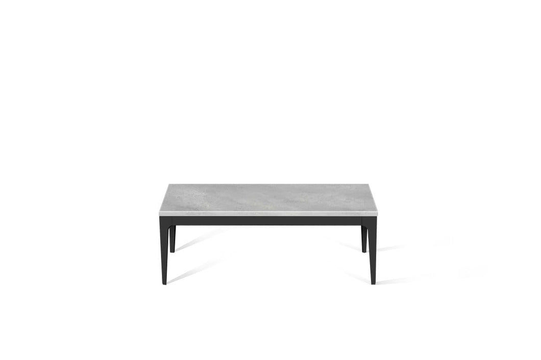 Airy Concrete Coffee Table Matte Black