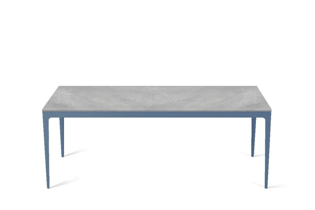 Airy Concrete Long Dining Table Wedgewood
