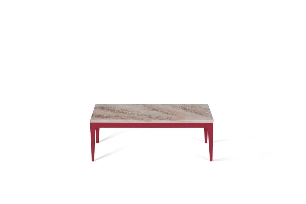 Excava Coffee Table Flame Red